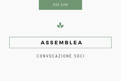 CONVOCAZIONE ASSEMBLEA 11/05/2019