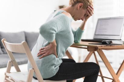 Mal di schiena e smartworking: l'inattività durante la pandemia